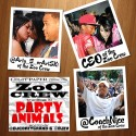Zoo Crew - Party Animals mixtape cover art