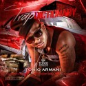 Tonio Armani - Traptionary mixtape cover art