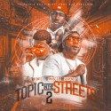 Topic In The Streets 2 mixtape cover art