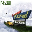 New Fad Zoo - FERAL II, Wildlife EP mixtape cover art