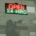 C Plus - Open 24 Hrs mixtape cover art