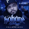 Kokane - On The Backstreets mixtape cover art
