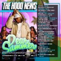 The Hood News (Dear Summer Memorial Weekend Edition) mixtape cover art