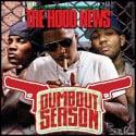 The Hood News (Dumb Out Season) mixtape cover art