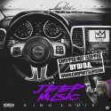 King Louie - Jeep Music (Chopped Not Slopped) mixtape cover art