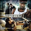 Monster mixtape cover art