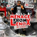 Al Pac - Menace From Lenox 2 mixtape cover art