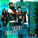 D187 Hood Radio 2K12 mixtape cover art