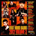D187 Hood Radio 2k12, Vol. 3 mixtape cover art