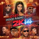 D187 Hood Radio 2K14 mixtape cover art