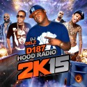 D187 Hood Radio 2K15 mixtape cover art