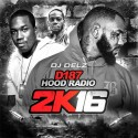 D187 Hood Radio 2K16 mixtape cover art