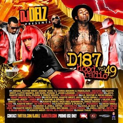 DJ Delz - D187 Hood Radio 49 Mixtape