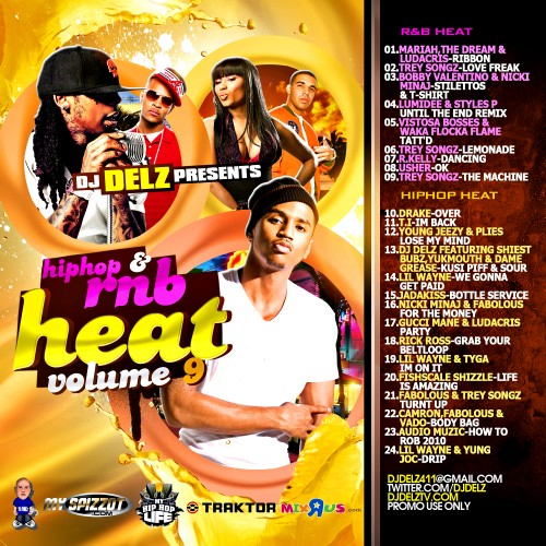 Hip Hop & R&B Heat 9 Mixtape