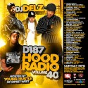 Hood Radio 40 (Hosted By Young Hustle) mixtape cover art