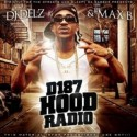Max B - D187 Hood Radio mixtape cover art
