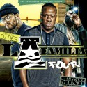 La Familia 4 The Aphilliates mixtape cover art