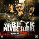 The Block Never Sleeps 166 mixtape cover art