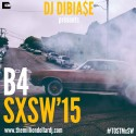 #B4SXSW '15 mixtape cover art