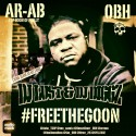Ar-Ab - Free The Goon mixtape cover art