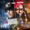 French Montana Vs 2 Chainz mixtape cover art