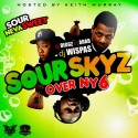 Sour Skyz Over NY 6 (Hosted By Keith Murray) mixtape cover art