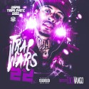 Trap Wars 22 mixtape cover art