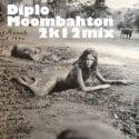 Diplo Moombahton 2K12 mixtape cover art
