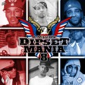 Dipset Mania 8 (Hosted By A-Million) mixtape cover art