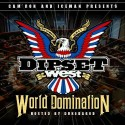 Camron & Iceman - Dipset West (World Domination) mixtape cover art