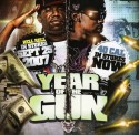 Hell Rell & 40 Cal. - Year Of The Gun mixtape cover art