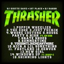 1st Place - Thrasher mixtape cover art