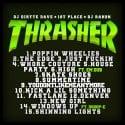 1st Place - Thrasher mixtape cover art