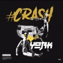 York - #Crash mixtape cover art
