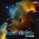 Robot & Quez Queso - Medicate & Meditate mixtape cover art