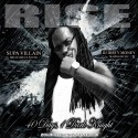 Supa Villain - BatMan Rise (40 Days 1 Dark Knight) mixtape cover art