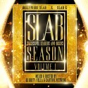 Hollywood Slab & Slab G - Slab Season mixtape cover art