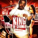 The King Of Georgia mixtape cover art