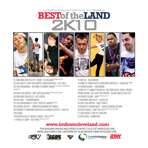 Best Of The Land 2011 Back Cover