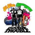 Al Fatz & Chip Tha Ripper - Double Trouble mixtape cover art