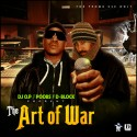 D-Block - The Art Of War (Hosted by Poobs) mixtape cover art