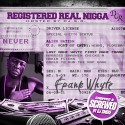 Frank Whyte - Registered Real Nigga (Chopped & Screwed) mixtape cover art