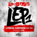 L.A. Da Boss - L.E.P.1 (Lyrical Exercise Part One) mixtape cover art
