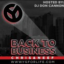Chris & Neef - Back To Business mixtape cover art