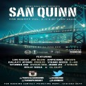 San Quinn - The Mighty 3 (It's My Turn Again Read) mixtape cover art