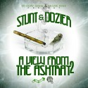 Stunt N Dozier - A View From The Ashtray 2 mixtape cover art