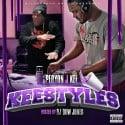 Peryon J Kee - Keestyles mixtape cover art