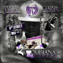 Peryon J Kee - Louisiana Thuggin mixtape cover art