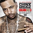 Chinx Drugz - Cocaine Riot 3 mixtape cover art