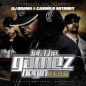 Let The Gamez Begin (Hosted by Carmelo Anthony) mixtape cover art